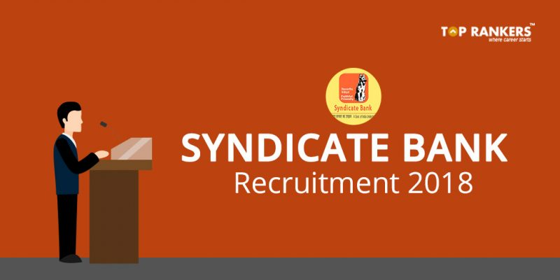 Syndicate Bank PO Recruitment