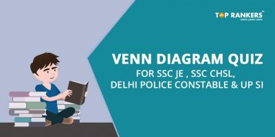 Venn Diagram Quiz for SSC JE , SSC CHSL, Delhi Police Constable and UP SI