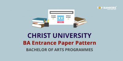 Christ University BA Entrance Paper Pattern