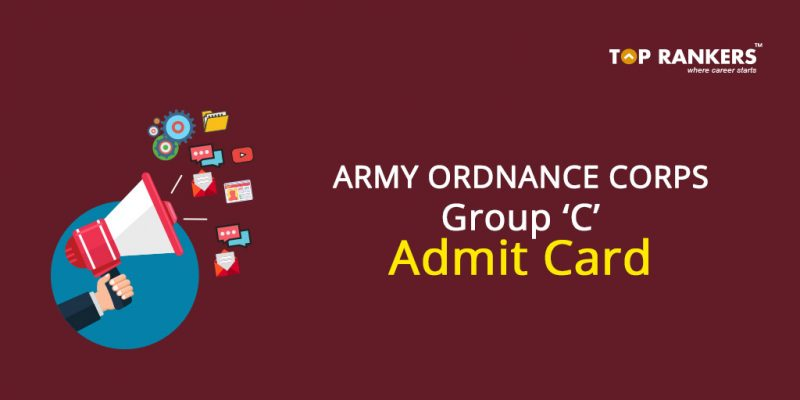 Army Ordnance Corps Group C Admit Card