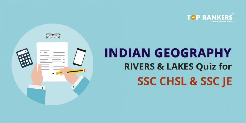 Indian Geography Rivers and Lakes Quiz