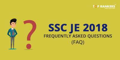 SSC JE FAQs- Frequently Asked Questions with Answers
