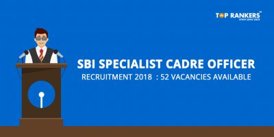 SBI Specialist Cadre Officer Recruitment 2018