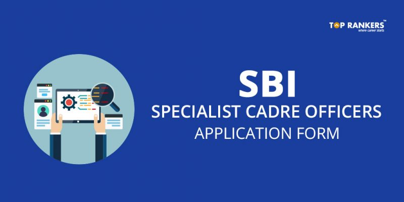 SBI Specialist Cadre Officers Application Form