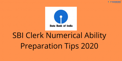 SBI Clerk Numerical Ability Preparation Tips 2020