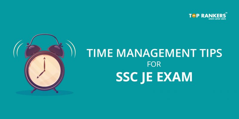 SSC JE Time Management Tips