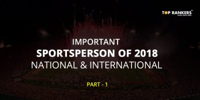 Important Sportsperson of 2018- National and International