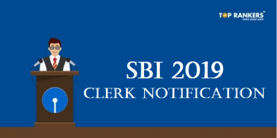 SBI Clerk Notification 2019
