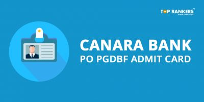 Canara Bank PO Admit Card 2018 – Download Hall Ticket