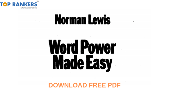 Download FREE Word Power Made Easy PDF by Norman Lewis