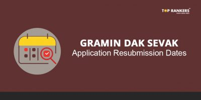 Gramin Dak Sevak Application for Jharkhand & Telangana Circle – Resubmission Dates