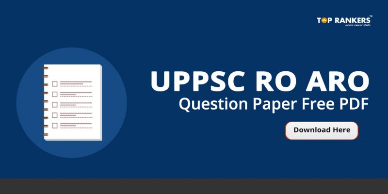 UPPSC RO ARO Question Paper