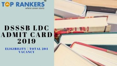 DSSSB LDC Admit Card 2019