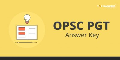 OPSC PGT Answer Key 2018 – Check Here