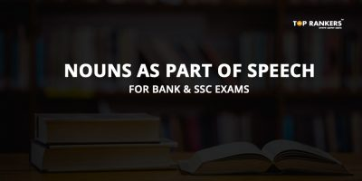 Nouns as Part of Speech for Bank & SSC Exams 2019 – English Notes in PDF
