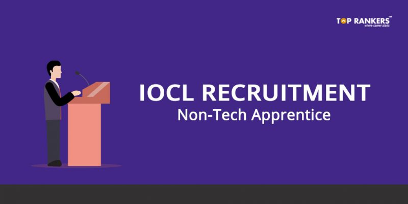 IOCL Non-Tech Apprentice Recruitment 2018