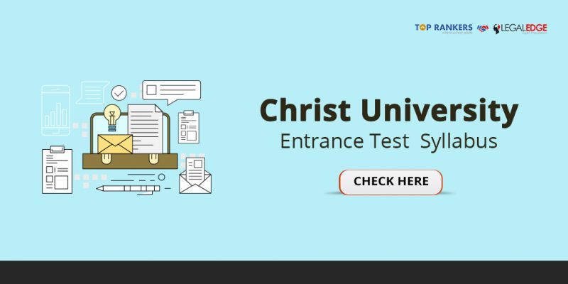 Christ University Entrance Test Syllabus