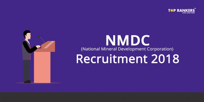 National Mineral Development Corporation Recruitment 2018