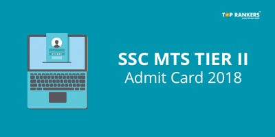 SSC MTS Tier II Admit Card 2018