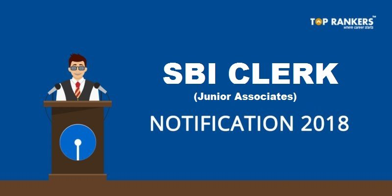 SBI Clerk Notification 2018