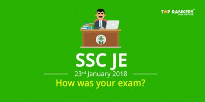 SSC JE Exam Review 23 January 2018 – How was your exam?
