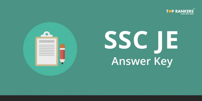 SSC JE Answer Key 2018 - Direct Link to Download