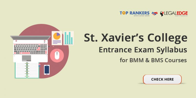 St. Xavier's College Entrance Exam Syllabus