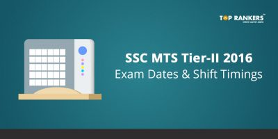 SSC MTS Tier-2 2016 Exam Dates and Shift Timings