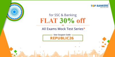 Republic Day Special! FLAT 30% Off on ALL SSC & Banking Mock test Series