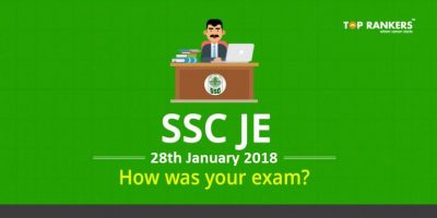 SSC JE Exam Analysis and Review for 28th January 2018 : Questions Asked, Cut off Marks