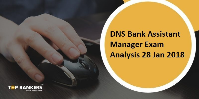 DNS Bank Assistant Manager Exam Analysis