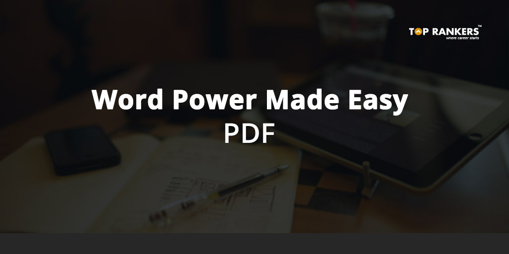 Recommended books for ssc cgl 2018 subject wise list of books word power made easy pdf download and practice here fandeluxe Images