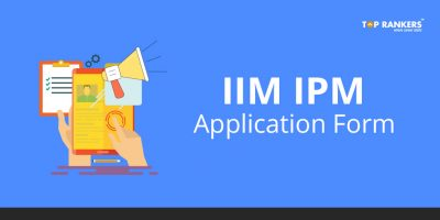 IIM IPM Application form 2018