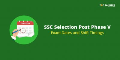 SSC Selection Post Phase V Exam Dates and Shift Timings
