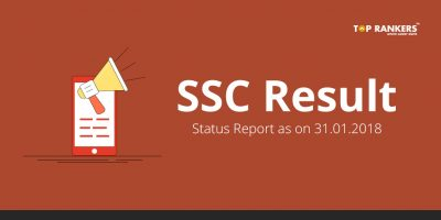 SSC Result Status Report as on 20.02.2018
