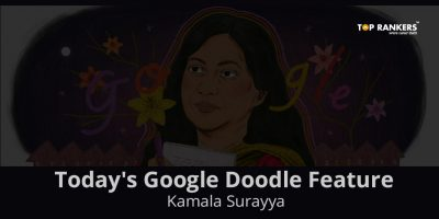 Today's Google Doodle Feature – Kamala Surayya