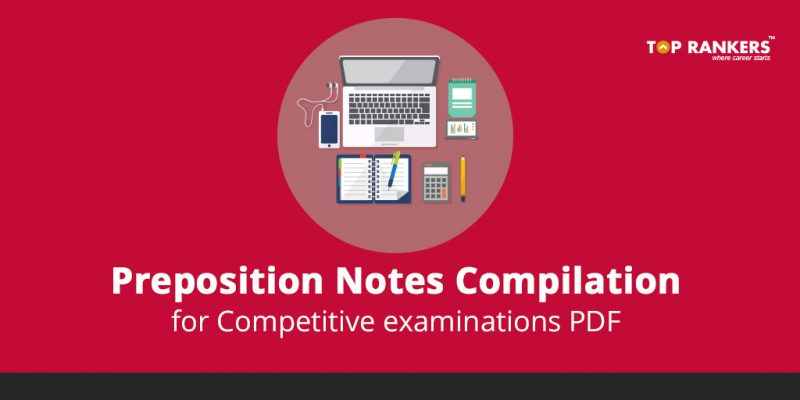 Preposition Rules for Competitive Exams PDF