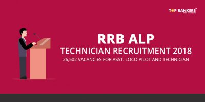 RRB ALP Technician Recruitment 2018 – CEN 01 Check Complete Details