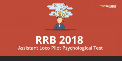 RRB ALP Psycho Test 2018 To be Conducted for Kolkata & Bhubaneswar