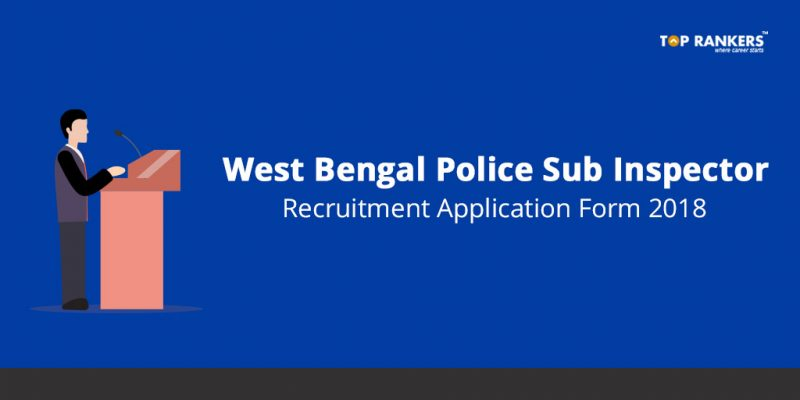 West Bengal Police SI Application Form