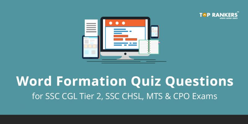 Word Formation Quiz Questions