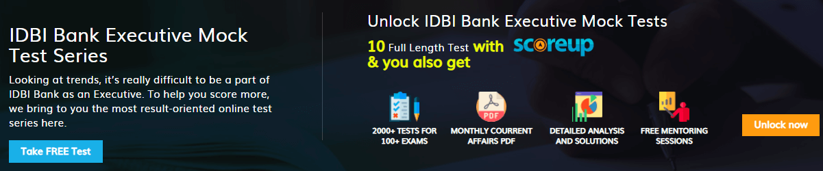 idbi bank executive exam pattern