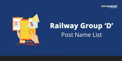 Railway RRB Group D Post Name List