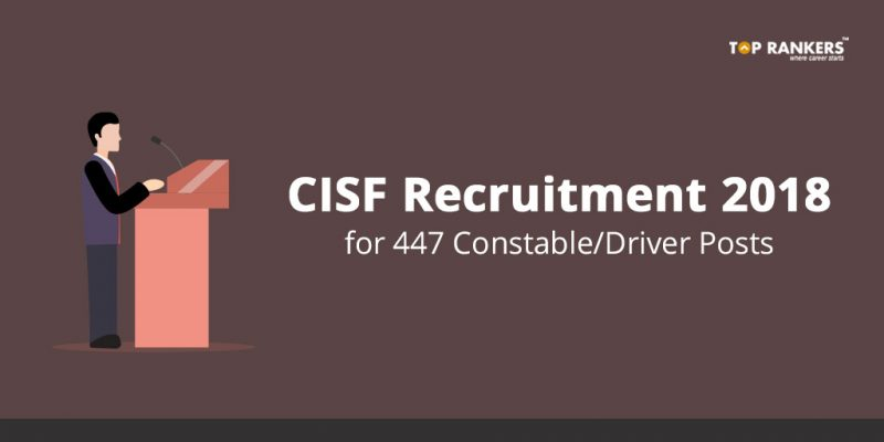 CISF Recruitment Notification 2018