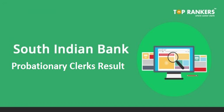 South Indian Bank Clerk Result