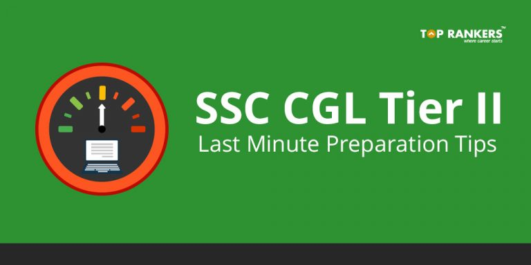 SSC CGL Tier 2 Last Minute Tips