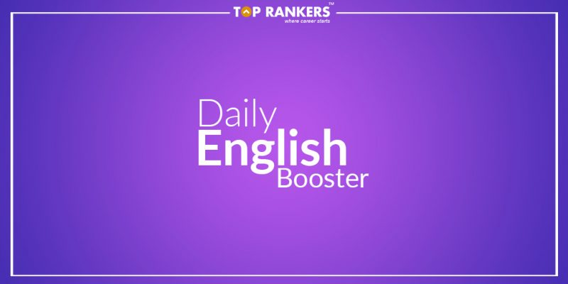 Attempt Daily English Quiz.