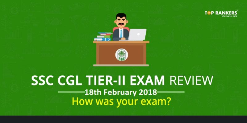 SSC CGL Exam Review tier 2