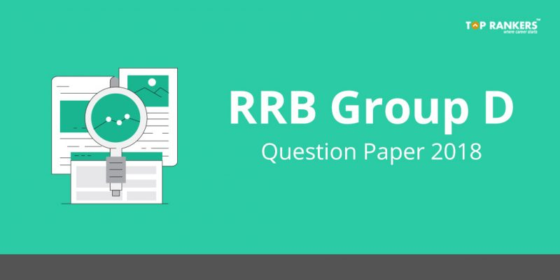 RRB Group D Question paper 2018