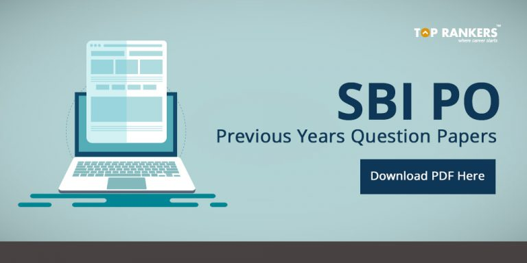 SBI PO Previous Year Question Papers PDF Download
